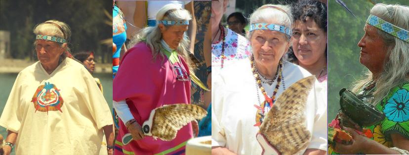 Grandmother Tonalmitl in diferrent rituals