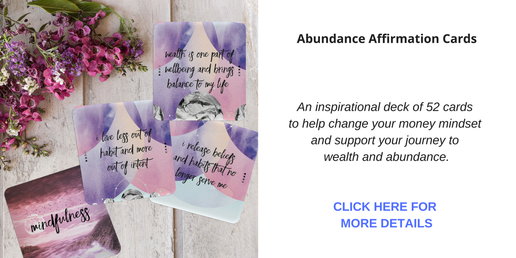 Abundance Affirmation Cards for wealth and prosperity