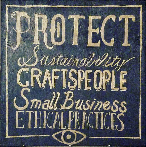 values ethics protect small business craft maker