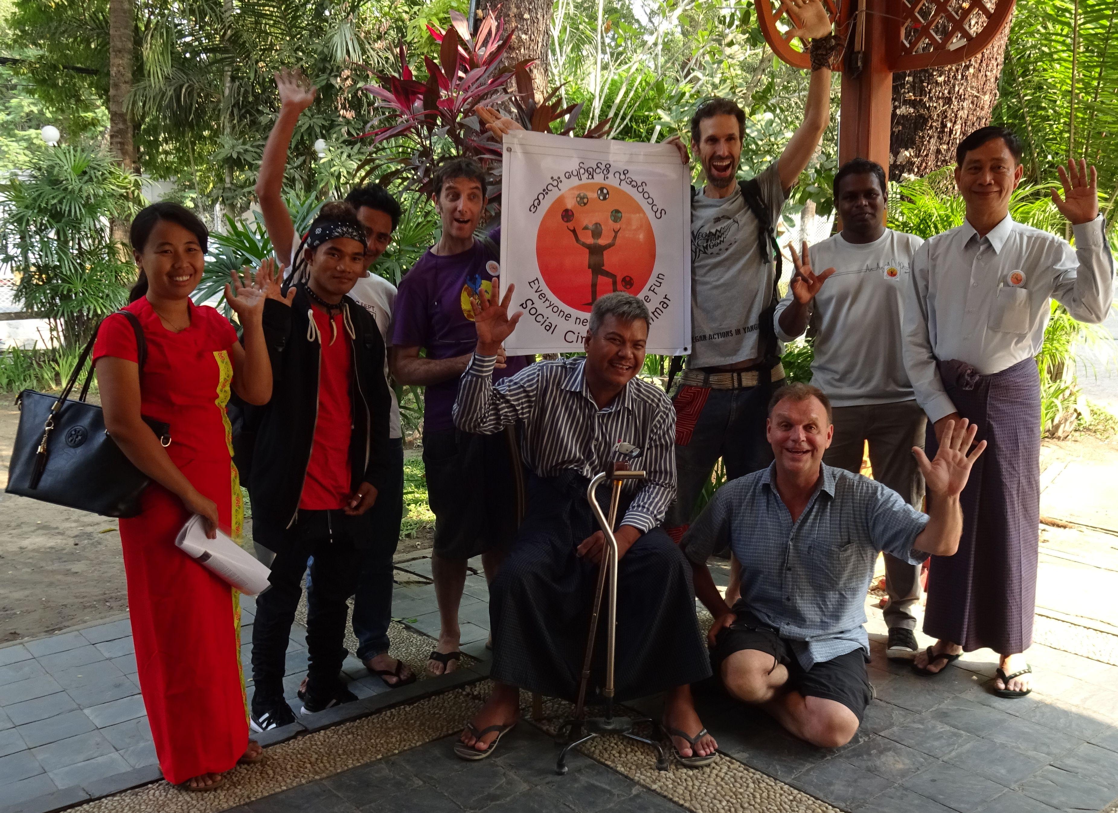 Social Circus Myanmar Board of Directors