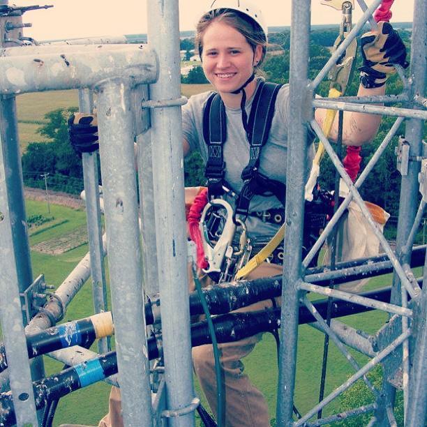 Cellphone tower climber engineer