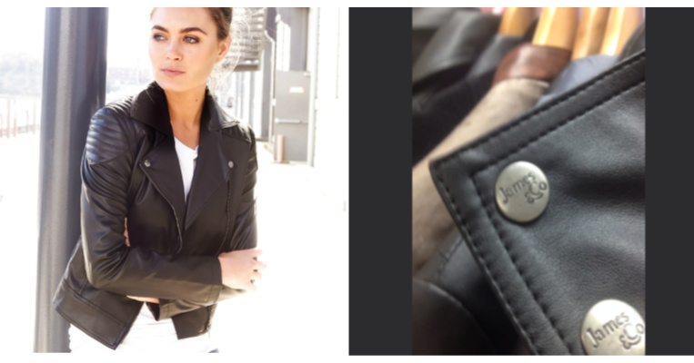 james&Co jacket and studs