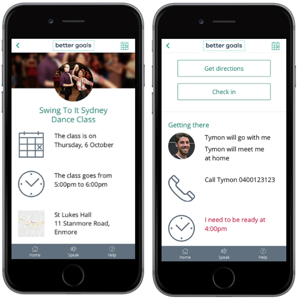 Better Goals Mobile Appointment